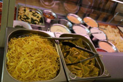 k-Pasta und Soßen